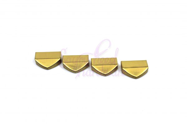 Tapered Strap Ends - Set of 4