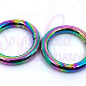 "Rainbow 1"" O Rings - Set of 4"