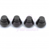 14mm Round Screw On Purse Feet - Set of 4