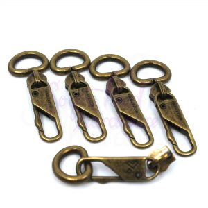 Conjo Latch Hook No.5 Zipper Pulls - Set of 5