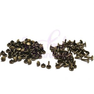 Double Cap Rivets - Set of 30