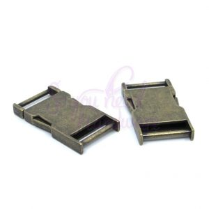 "Set of 2 - 1"" Side Release Buckle"