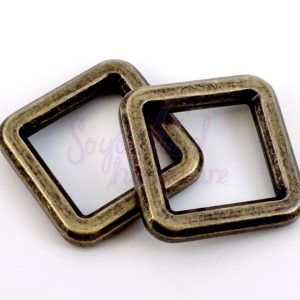 "1"" BEVELED SQUARE CONNECTOR - SET OF 4"