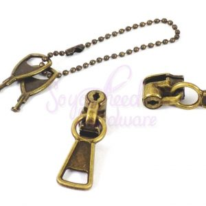 Locking No. 5 Zipper Pulls